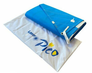 New Genuine Laser Pico Blue and White Mainsail For Sailing Dinghy Boat