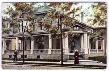 1907 KNIGHTS OF PYTHIAS HUNTINGTON INDIANA LODGE HOUSE*TO BOLINGER MARION OHIO