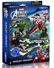 Marvel Avengers Assemble Papercraft Avenjet Aircraft Vehicle Pack Blueprints