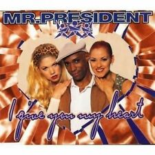 Mr. President I give you my heart (1996) [Maxi-CD]