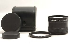 @Ship in 24 Hrs@ Rare @ Mizar Telephoto Converter 2.0X + 49 -> 46mm Adapter Ring