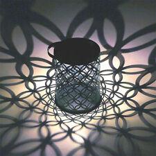 LED Solar Lantern Retro Hanging Outdoor Waterproof Light for Patio Garden Lights