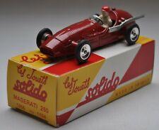 SOLIDO Réédition 1/43 - 5 voitures: Ferrari, Maserati, Panhard & Porsche