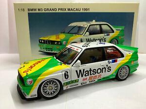 1/18 BMW M3 e30 Watson´s Grand Prix Macau 1991 Emaluele Pirro AUTOart Millenium