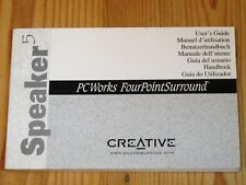 Cambridge - Speaker 5 PCworks FourpPointSurround - Handbuch / User's Guide