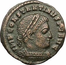 Constantine I the Great Ticinum Ancient Roman Coin  Sol  Sun God Cult  i57483