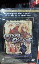 """DVD CRISTAL OSCURO EDICON COLECCIONISTA """" NUEVO Y PRECINTADO """" JIM HENSON"""