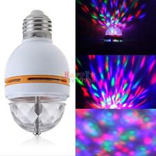LED Lighting Full Color Rotating Lamp Disco Party Bar Club Effect Stage Lights
