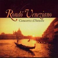 """RONDO VENEZIANO """"CONCERTO D'AMORE"""" CD NEUWARE"""