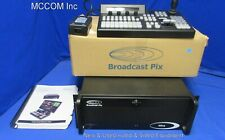 Broadcast Pix Mica Desktop 500 1 Me Hd Video Switcher w/ control panel, manual