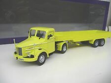 Lion car Lion Toys DAF Kromhout Truck with Trailor yellow Neu NEW