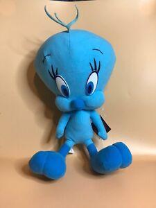 "Blue Tweety Bird Plush Stuffed Animal Looney Tunes Nanco 12"""