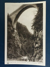 French Postcard - ST-SAUVEUR.-LE PONT NAPOLON with SAMLESBURY HALL TICKETs