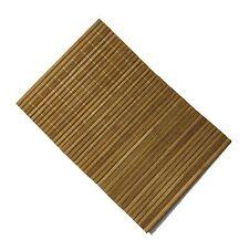 Bambú Madera lugar Felpudos Manteles individuales en haya color Cena Mesa platos