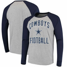 NFL Dallas Cowboys Byron Raglan Long Sleeve Tee Large Free Shipping