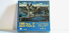 "Alexander Chen NOTRE DAME 1500 PC. Jigsaw Puzzle 24"" 33""x  by SunsOut NEW SEALED"