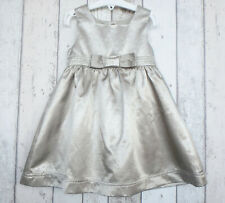 ** Gorgeous Girls Gold Bow Detailed Dress - Mothercare (2 - 3 years) **