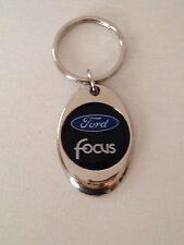 Ford Focus Keychain Chrome Metal  key chain