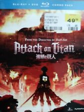 Attack on Titan: Part 1 (Blu-ray/DVD, 2014, 4-Disc Set, Limited Edition)