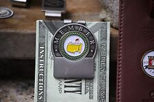 The Masters Personalized Member Money Clip Green Trim  Fr Engraving & Shipping