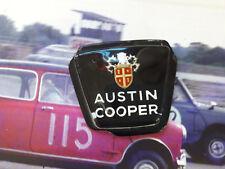 Classic Mini Austin Cooper MK2 genuine nos Bonnet Badge insert RARE Downton BMC