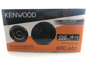"Kenwood - 6-1/2"" 2-Way Car Speaker KFC-651 - Black"