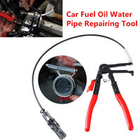 Flexible Wire Long Hose Clamp Plier Car Fuel Oil Water Pipe Repairing Hand Tool