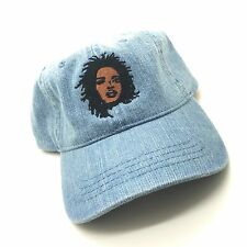 Denim Lauren Hill Fugees Dad Cap Hat Exclusive 90s