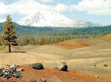 (10136) Postcard - Cascades Volcanoes - Lassen Peak, California