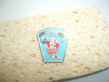 NAPPF NORTH AMERICAN POWERED PARACHUTE FEDERATION NOVELTY PIN CREST WITH CLUTCH