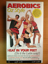 AEROBICS OZ STYLE ~ HEAT IN YOUR FEET ~ RARE VHS VIDEO
