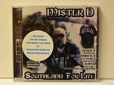 MISTER D - SOUTHLAND FOR LIFE US CD 2003 OG (Spanish Fly Southland Gang Chicano)
