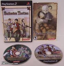 Suikoden Tactics (PlayStation 2) MINT & COMPLETE!!!