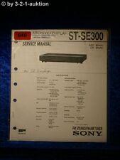 Sony Service Manual ST SE300 Tuner (#0649)