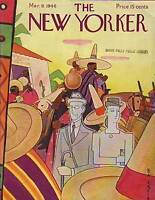 1946 New Yorker March 9 - Inconspicuous Mexico Tourists