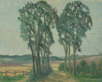 1969 Oil - Rural Landscape