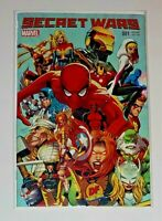 SECRET WARS #1 GREG LAND Exclusive VARIANT WITH COA FREE SHIPPING