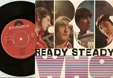THE WHO READY STEADY SWEDISH EP 45+PS 1966 MOD FREAKBEAT THE JAM HIGH NUMBERS