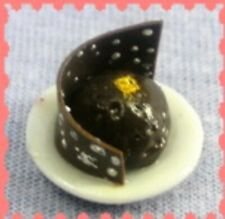 Miniature dolls house accessories Mini Chocolate Dessert 1:12th miniature scale