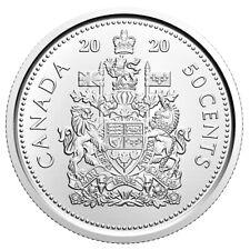 2020 CANADA 50¢ HALF DOLLAR BRILLIANT UNCIRCULATED COIN