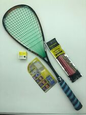 Prince O3 Tour Squash Racket Pete Nicol Pro Accessories Used Grip 145g 27� Sx44B