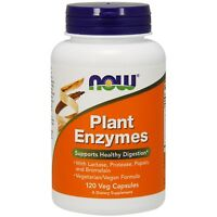 NOW Foods Plant Enzymes, 120 Veg Capsules
