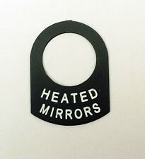 HEATED MIRRORS Land Rover Classic RACE RALLY OFF ROAD lucas switch tag