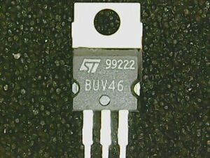 1 Stück BUV46 NPN-Transistor 850V 6,0A 85W TO220 (ST)