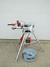 Ridgid 300 T2 Power Pipe Threader Threading Machine With Oiler Amp 1452 Table Used