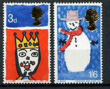 Seasonal, Christmas Pre-Decimal British Elizabeth II Stamps