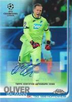 2018-19 Topps Chrome UEFA Champions League - Base Autographs - You Pick