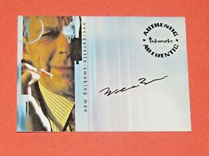 2003 X-Files Season 9 William B Davis A17 Cigarette-Smoking Man Autograph Card!