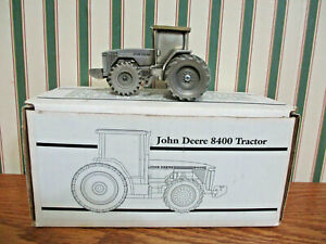 John Deere Pewter 8400 1997 San Antonio Expo By SpecCast 1/43rd Scale