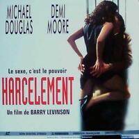 HARCELEMENT WS VF PAL LASERDISC Michael Douglas, Demi Moore, Donald Sutherland